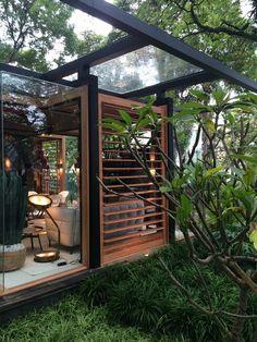david bastos arquiteto / casa do bosque, casa cor 2015 são paulo