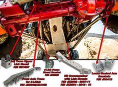 Artec Industries JK Front 3 Link Kit