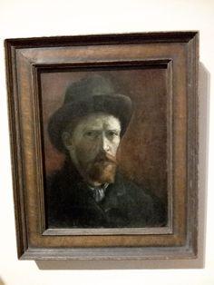 Van Gogh Exhibition, Van Gogh Self Portrait, Tate Britain, Frame, Artwork, Painting, Decor, Decoration, Work Of Art