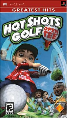 Hot Shots Golf Open Tee  Sony PSP *** Click image to review more details.