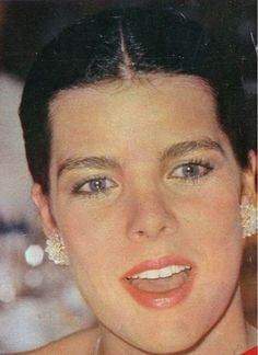 Princess Caroline of Monaco at the Red Cross Ball.1980.