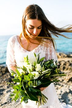 Boho Wedding, Destination, Mallorca, Bride, wedding dress