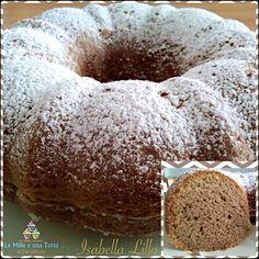 CIAMBELLA 12 CUCCHIAI AL CAFFÈ, CON IL BIMBY RICETTA DI: ISABELLA LILLO Ingredienti: 3 uova 12 cucchiai di farina 12 cucchiai di zucchero