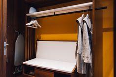アジア初上陸「ハイアット セントリック」の内部公開、ミレニアル世代がターゲット Storage Hooks, Laundry Storage, Storage Baskets, Luggage Rack, Park Hotel, Closet Bedroom, Storage Containers, Bunk Beds, Shoe Rack