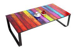 Konferenčný stolík COLOR 105 cm - viacfarebná