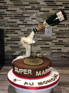 Gâteau gravité champagne