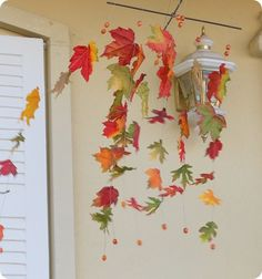 Autumn leaves windcatcher