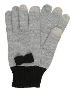 Even&odd Guantes Light Grey Black guantes Light Guantes Grey Even&Odd black Noe.Moda