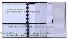 Great planner for keeping students organized.  [Interesting idea.  Have to check and see if there are notebooks like this.]
