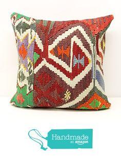Throw Pillow cover 20x20 inch (50x50 cm) Living Room Kilim pillow cover Sofa Decor Folk Art Pillow cover Kilim Cushion Cover red yellow green from Kilimwarehouse https://www.amazon.com/dp/B01MXPUSKP/ref=hnd_sw_r_pi_dp_7KVnybG854NQJ #handmadeatamazon