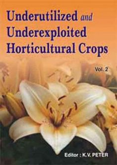 Horticulture Books From India, Underutilized and Underexploited Horticultural Crops: Vol 02: K.V. Peter:, 9788189422691 - nipabooks.com