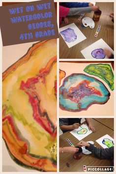 4th grade geode production