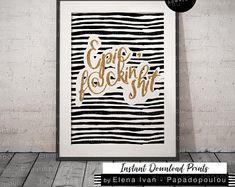 Instant Download Hand-drawn & Digital Prints by ArtByElenaIvanPapa Marketing And Advertising, Hand Drawn, Create Yourself, Digital Prints, How To Draw Hands, Handmade Items, Etsy Seller, Creative, Fingerprints