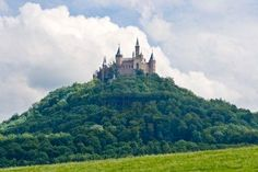 Hohenzollern Castle, Black Forest Germany.   Been inside.  Amazing architecture and countryside views.