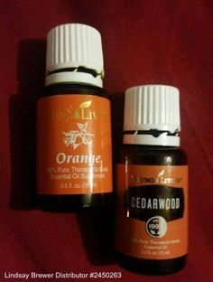 I diffuse these two oils every night. Cedarwood stimulates melatonin. Orange is a calming oil and helps alleviate anxiety. The combination smells amazing! Ask me how to order yours!