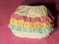Custom  Handmade  Personalized  Embroidered Designer Ruffled Diaper Covers by starcrossedlullabyes on Etsy