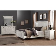 What do you think of white bedroom sets? Love \'em or hate \'em ...