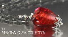Gifts For the world traveler or History Lover : Authentic Murano Venetian glass collection
