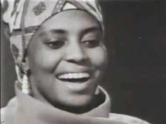 "A clicking song, Miriam Makeba, ""Mama Africa"" Sound Of Music, Kinds Of Music, New Music, Nina Simone, Miriam Makeba, Black Actors, She Song, Gospel Music, World Music"