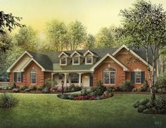 The Plan That Has it All (HWBDO76133) | Country House Plan from BuilderHousePlans.com