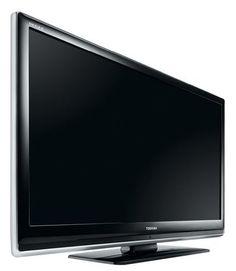Toshiba 42 XV 505 D, 42 Zoll / 107 cm 16:9 HD Ready 1080p LCD-Fernseher mit integriertem DVB-T Tuner Klavierlack schwarz