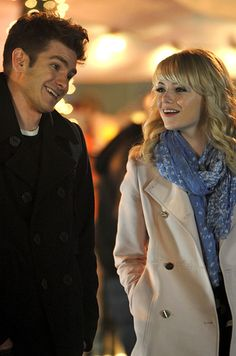 21 Reasons Why Andrew Garfield And Emma Stone Were The Cutest Couple Of 2013