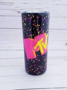 Glitter Tumblers, Glitter Cups, Kids Tumbler, Tumbler Cups, 90s Cup, Epi Pen Case, Custom Cups, Tumbler Designs, Cup Design