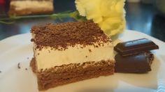 Famózní zákusek se zakysanou smetanou - Fotopostup   NejRecept.cz Sweets Cake, Tiramisu, Baking, Ethnic Recipes, Desserts, Food, Creme, Author, Chocolate
