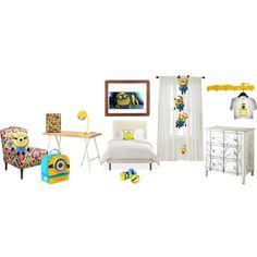 minion room  | minion room for charine - Polyvore