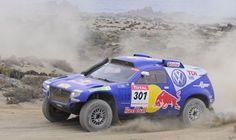 VW Touareg TDIs finish 1-2 in Dakar Rally