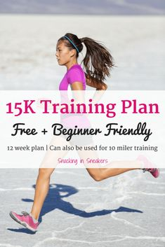 This training plan is perfect for beginner runners! It will bring you from running a mile and a half up to the distance in just 12 weeks. running for beginners run 10 mile training plan 10 Mile Training Plan, 15k Training, Training Schedule, Running Training, Marathon Training, Training Programs, Weight Training, Weight Lifting, Running Plan