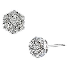 Women S Bony Levy Cypress Cer Diamond Earrings 12 100 Hkd Liked On Polyvore Featuring