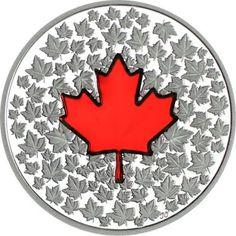 20 Dollar Silber Maple Leaf - Impressionen PP