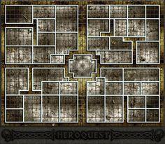Grand plateau Heroquest