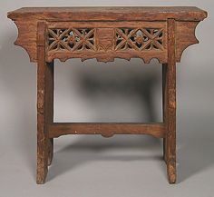 Stool, made from oak. French or South Netherlandish, circa 15th century