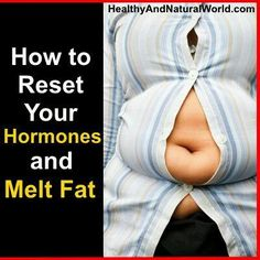How To Reset Hormones To Melt Fat !!