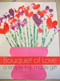 Bouquet of Love from Toddler Approved