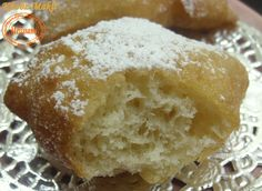 Fried Homemade Algerian Bread - Couscous and pudding