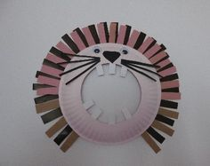 Lev z papiera Preschool, Decorative Plates, Clock, Mirror, Zoo, Home Decor, Kids, Crafts, Watch