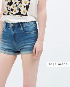 Para estrenar 4557b 03586 Pantalones Pantalones Cortos Cortos Zara Mujer Zara Cortos ...