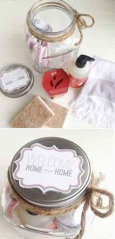 Make it :: Housewarming Gift in a Jar | Thoughtfully Simple