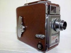 1950s Keystone Olympic 8mm Movie Camera