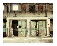 Mint Doors Photography Buffalo New York by #JillianAudreyDesigns #photography #fpoe