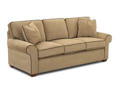 Klaussner Living Room Patterns Sofa 19000 S - Klaussner Home Furnishings - Asheboro, North Carolina