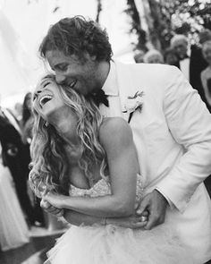 Via ❤️ Forever and Always ❤ -- Wedding - Bride - Groom - Black and White - Couple - Laughter - Embrace - Photography - Pose Idea