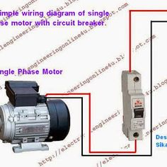 the complete guide of single phase motor wiring circuit the complete guide of single phase motor wiring circuit breaker and contactor diagram
