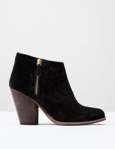 Zip High Heel Boot A