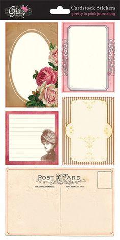 CLEARANCE  Glitz Design  Pretty In Pink  by DiscountPaperCrafts, $2.50