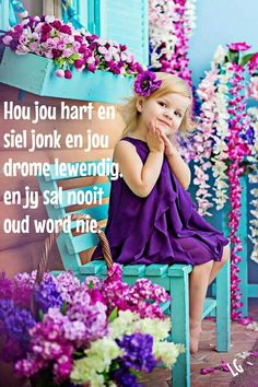 Afrikaanse Quotes, Goeie More, Wise People, Good Morning Inspirational Quotes, Things To Think About, Birthday Cards, Kids Fashion, Jesus Loves, Yellow Black