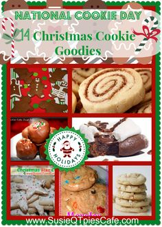 National Cookie Day with 14 Christmas Cookie Recipes #NationalCookieDay #cookies